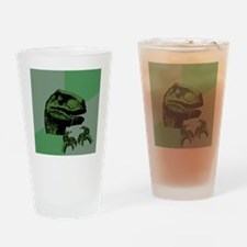 philosoraptorfloss Drinking Glass