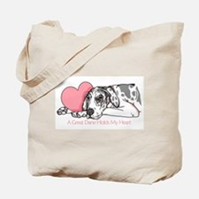 Harle UC Holds Heart Tote Bag