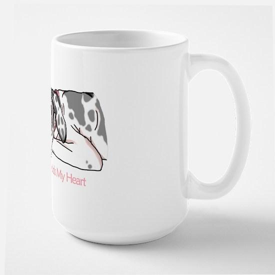 Harle UC Holds Heart Large Mug