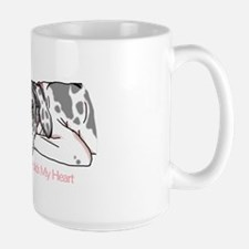 Harle UC Holds Heart Mug