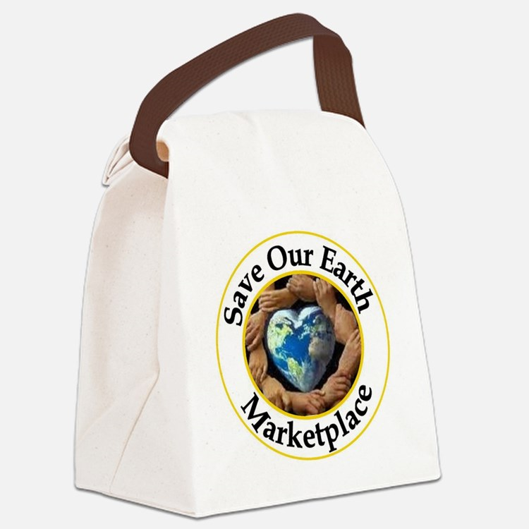 logo with name Canvas Lunch Bag