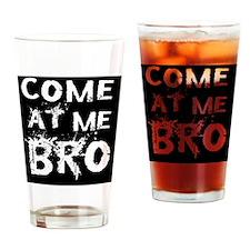 Bro Btn Drinking Glass