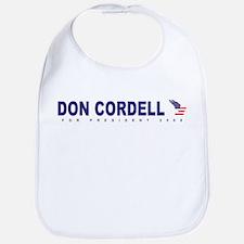 Don Cordell for president Bib