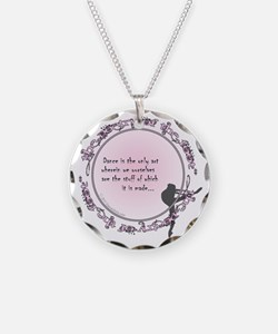 dance is the only art t-shir Necklace