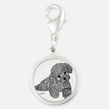 Poodle puppy Charms