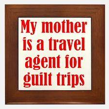 guilt_trips2 Framed Tile