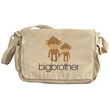 monkey big brother Messenger Bag