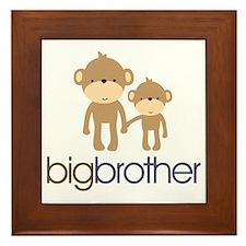 monkey big brother Framed Tile