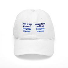 laugh_mug1 Baseball Cap