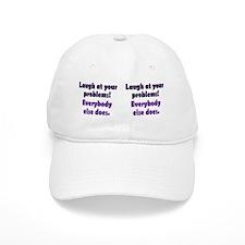 laugh_mug2 Baseball Cap