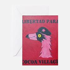 Libertad Para Cocoa Village Greeting Card