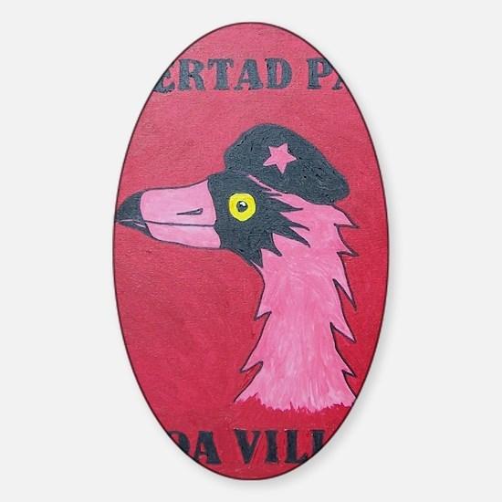 Libertad Para Cocoa Village Sticker (Oval)