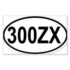 oval-300ZX Decal