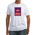 James Gilchrist for President Fitted T-Shirt