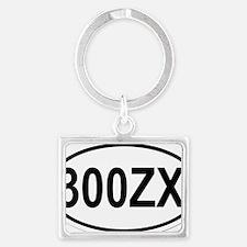 oval-300ZX Landscape Keychain