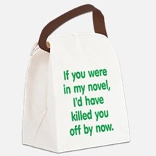 mynovel2 Canvas Lunch Bag