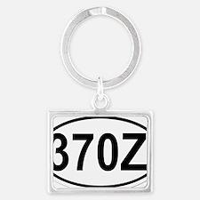 oval-370Z Landscape Keychain