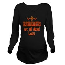 GRANDDAUGHTER Long Sleeve Maternity T-Shirt