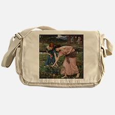 Gather Ye Rosebuds While Ye May Messenger Bag