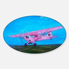 Pink Piper Cub Decal