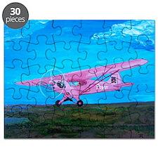 Pink Piper Cub Puzzle