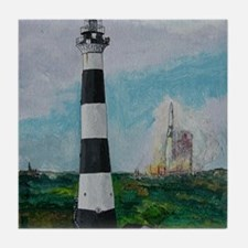 Two Beacons - Cape Canaveral Light Tile Coaster