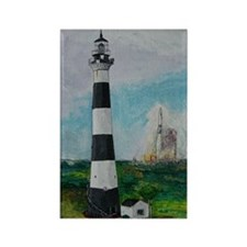 Two Beacons - Cape Canaveral Ligh Rectangle Magnet