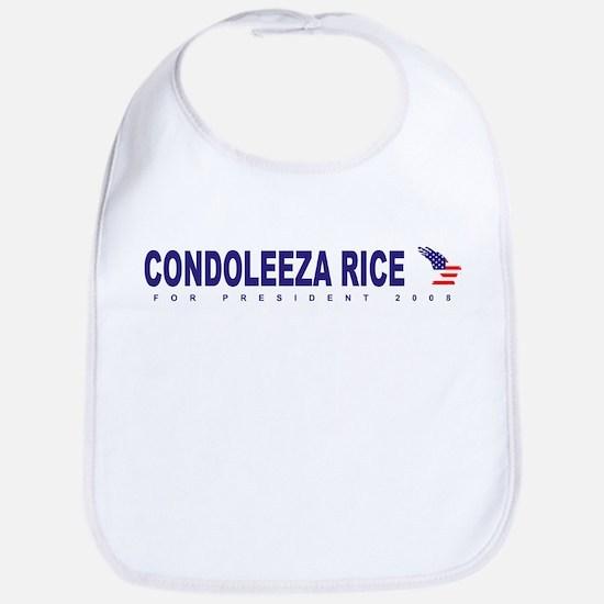 Condoleeza Rice for president Bib