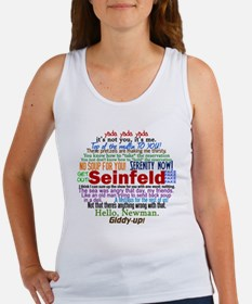 seinfeldquotesbutton Women's Tank Top