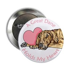 Brindle UC Holds Heart Button