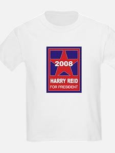 Harry Reid for President (sta Kids T-Shirt