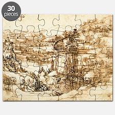 Landscape Drawing Puzzle