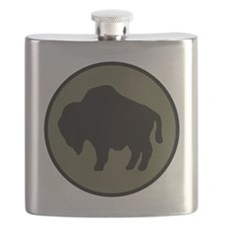 92nd Infantry Division Flask