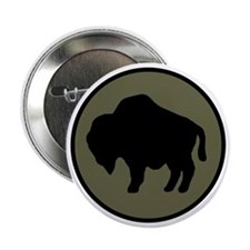 """92nd Infantry Division 2.25"""" Button"""