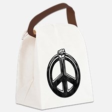 fist-peace-dist-LTT Canvas Lunch Bag