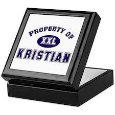 Property of kristian Keepsake Box