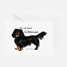 Dachshund Attitude Greeting Cards