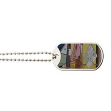 Picasso Flamingos Dog Tags