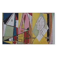 Picasso Flamingos Decal
