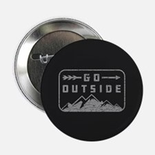 "Go Outside 2.25"" Button"