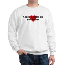 Heart on for James Sweatshirt