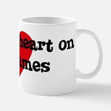 Heart on for James Mug