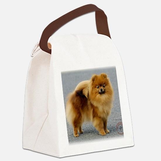 Pomeranian 9R042D-22 Canvas Lunch Bag