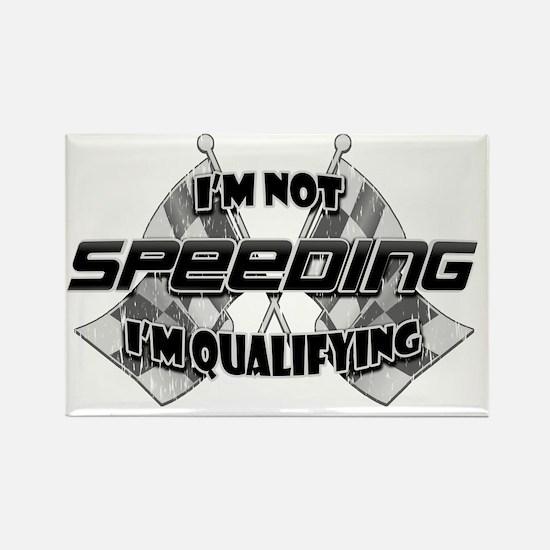 Im Not Speeding 2 Rectangle Magnet
