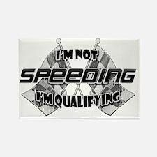 Im Not Speeding 3 Rectangle Magnet