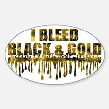BLEED BLACK Decal