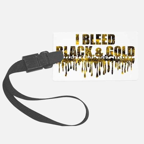 BLEED BLACK Luggage Tag