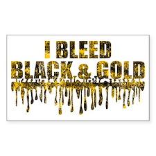 BLEED BLACK Decal