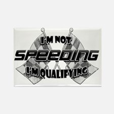 Im Not Speeding 5 Rectangle Magnet