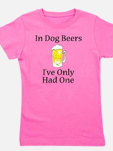Dog Beers Girl's Tee